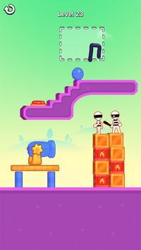 お絵描きヒーロー3D:お絵描きパズルゲーム スクリーンショット 9