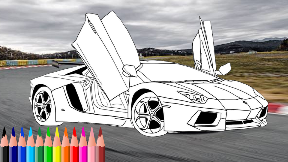 color cars games - monster truck coloring APK 1.3.1 ...