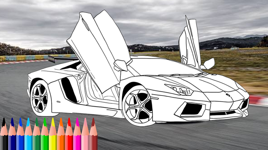 Police Car Coloring Pages Games | Collection Images | 500x889