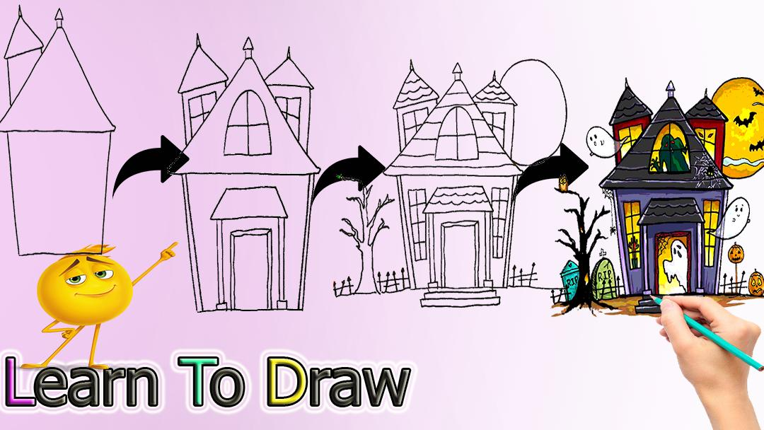 How To Draw Halloween For Android Apk Download