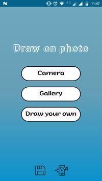 Draw on a Photo - Customise Photos poster