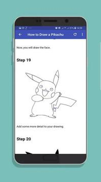 How to Draw Pocket Monster Step by Step screenshot 4
