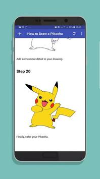 How to Draw Pocket Monster Step by Step screenshot 5