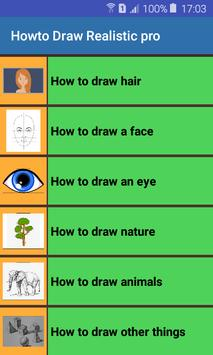 How to draw poster