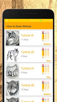 How to Draw Wolves poster