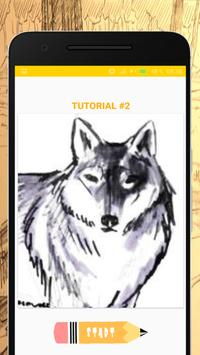 How to Draw Wolves screenshot 1