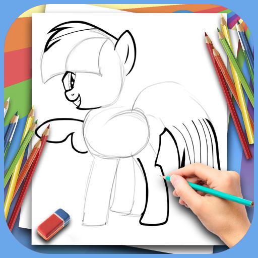 Wie zeichnet man ein schönes Pony?