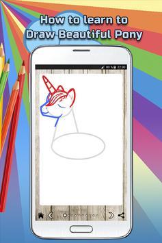 How to draw a beautiful pony screenshot 2