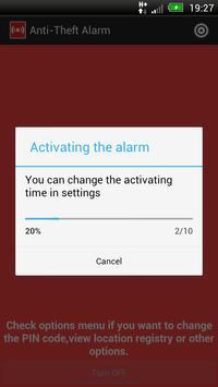 Anti-Theft Alarm screenshot 2