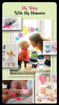 Baby Story Photo Editor 👶 Milestones for Babies screenshot 5