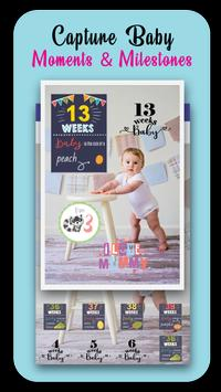 Baby Story Photo Editor 👶 Milestones for Babies screenshot 2