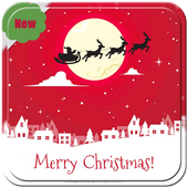 Christmas Stickers and Santa emoticons icon