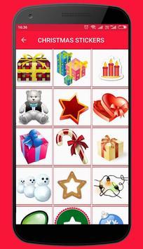 Christmas Stickers and Santa emoticons screenshot 3