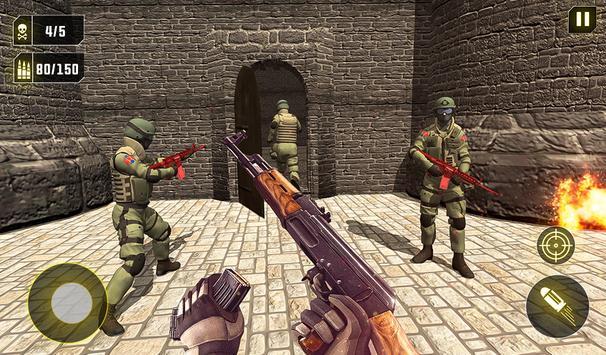 Commando Strike Back Militants Attack FPS Shooting screenshot 6