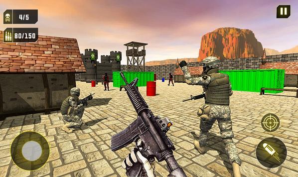 Commando Strike Back Militants Attack FPS Shooting screenshot 9