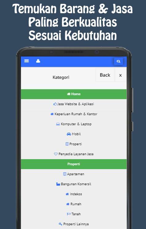 Bukaniaga Com Pasang Iklan Gratis Jual Beli For Android Apk