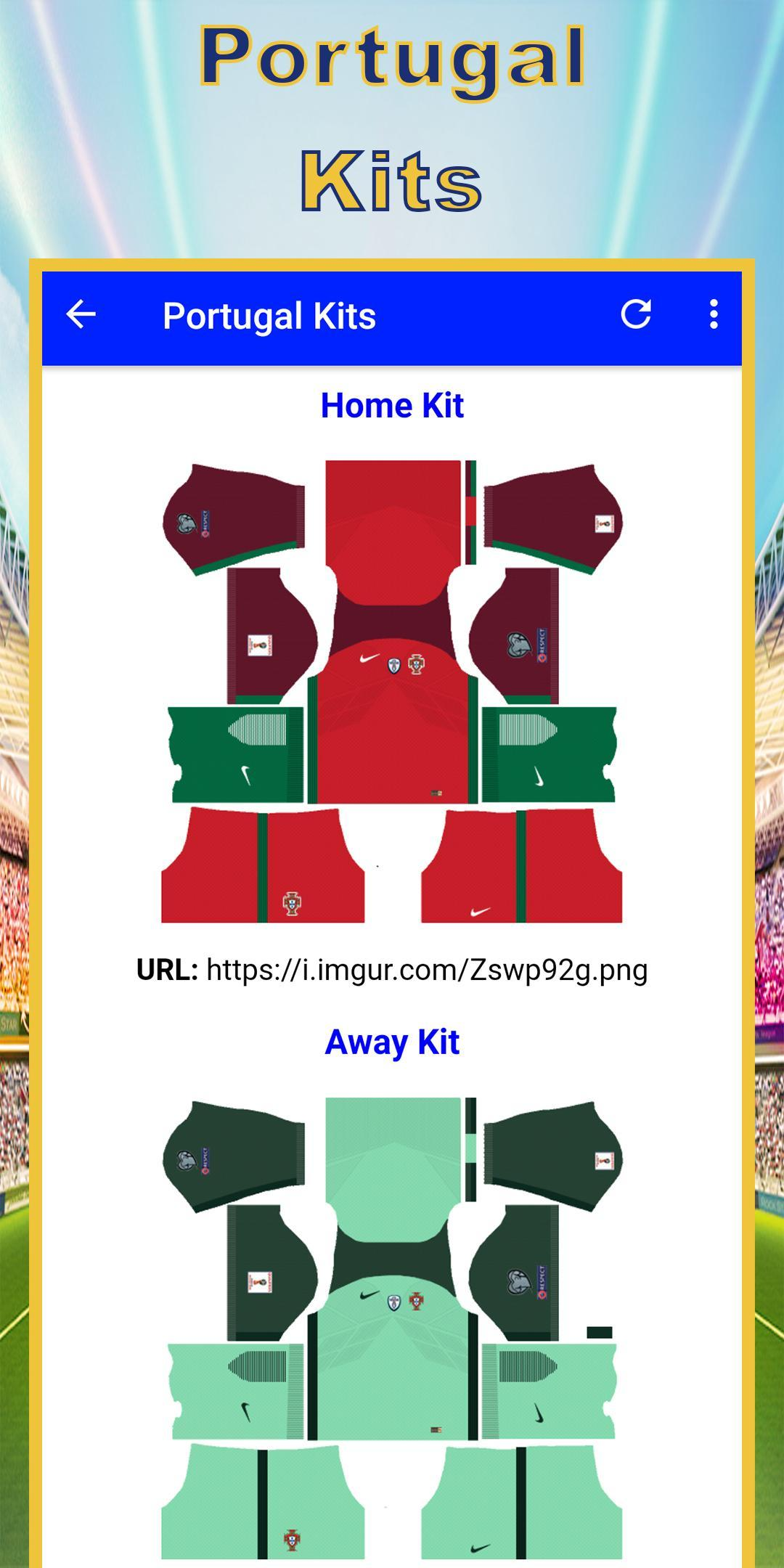 Dream League Kits for Android - APK Download