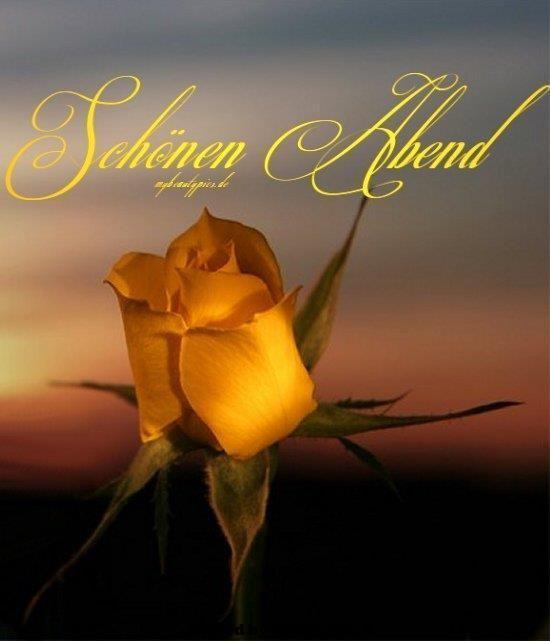 Romantisch schönen abend und gute nacht