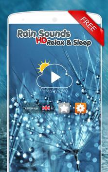 Sons de pluie: Relax et Sommeil Affiche