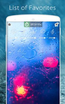 Sons de pluie: Relax et Sommeil capture d'écran 6