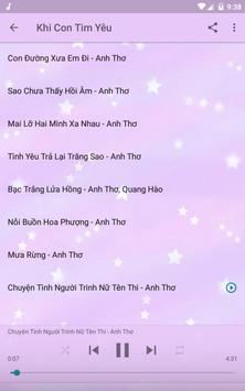 Anh Thơ Offline Music Album screenshot 5