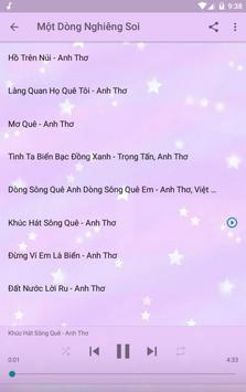 Anh Thơ Offline Music Album screenshot 13