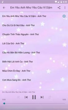 Anh Thơ Offline Music Album screenshot 10