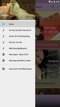 Anh Thơ Offline Music Album screenshot 2