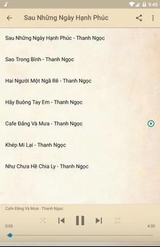 Thanh Ngọc Music Offline screenshot 4