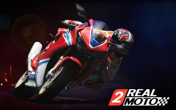 Real Moto 2 الملصق