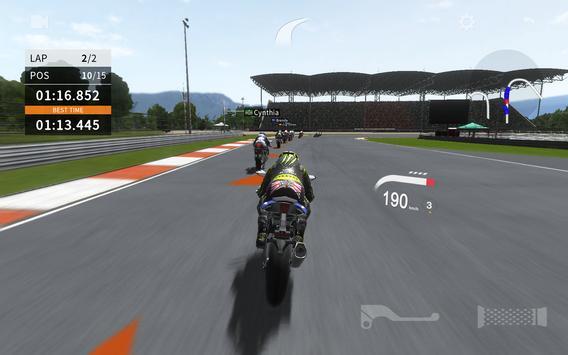 Real Moto 2 captura de pantalla 3
