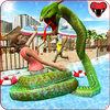 Dragon Snake Beach & City Attack Simulator 2020 icon