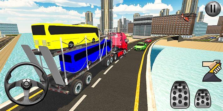 Bus Transport Truck Simulator 2019 screenshot 3