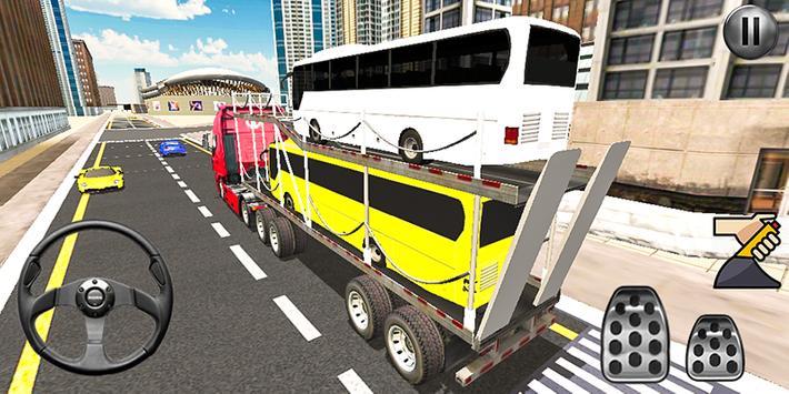 Bus Transport Truck Simulator 2019 screenshot 1