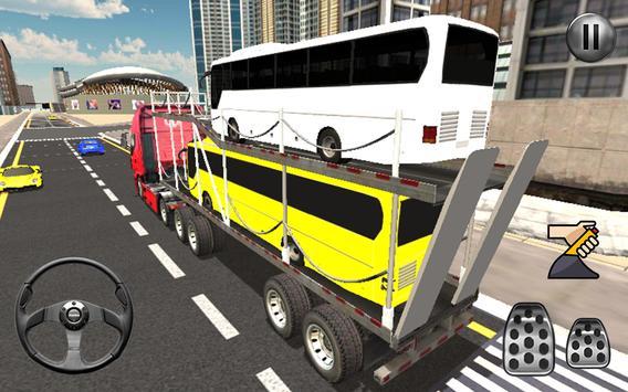 Bus Transport Truck Simulator 2019 screenshot 5