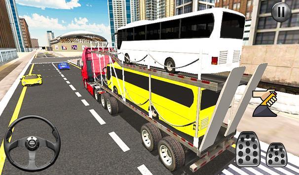 Bus Transport Truck Simulator 2019 screenshot 9