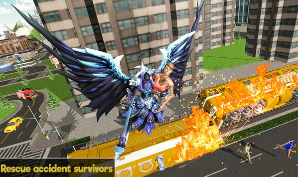 Flying Angel Superheroes Battle 2019 - Crime Time screenshot 6