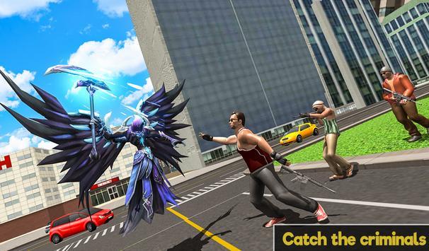 Flying Angel Superheroes Battle 2019 - Crime Time screenshot 12