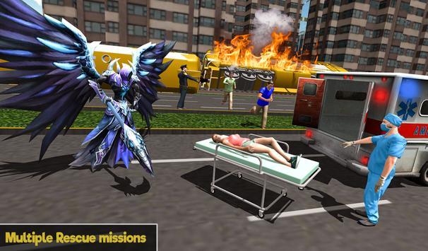 Flying Angel Superheroes Battle 2019 - Crime Time screenshot 14