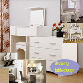 dressing table design icon
