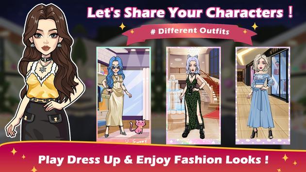 Vlinder Story:Dress up Games, Fashion Dolls poster