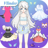 Vlinder Princess ícone