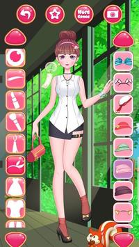 Anime Princess Dress Up - Girl Fashion Star Makeup screenshot 12