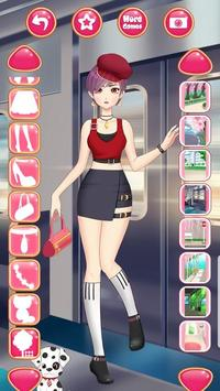 Anime Princess Dress Up - Girl Fashion Star Makeup screenshot 2