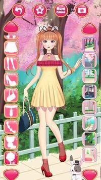 Anime Princess Dress Up - Girl Fashion Star Makeup screenshot 4
