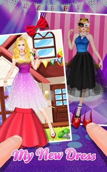 Fashion Girl's Party Dress Up screenshot 8