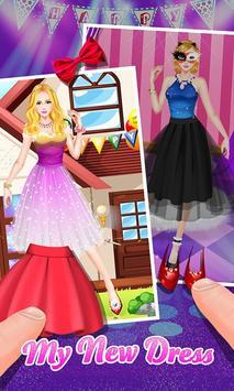 Fashion Girl's Party Dress Up screenshot 2