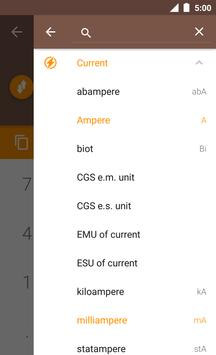 Current Converter ConvertIt! screenshot 1