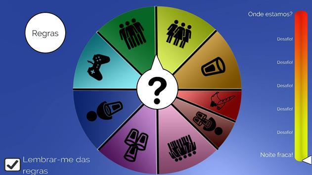 Jogo de bebida - Roda dos Bêbados , Em português imagem de tela 1