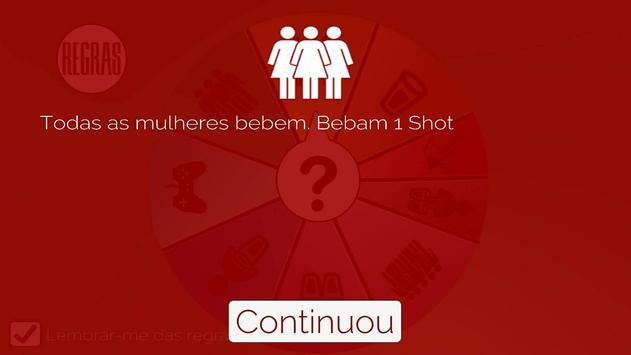 Jogo de bebida - Roda dos Bêbados , Em português imagem de tela 2